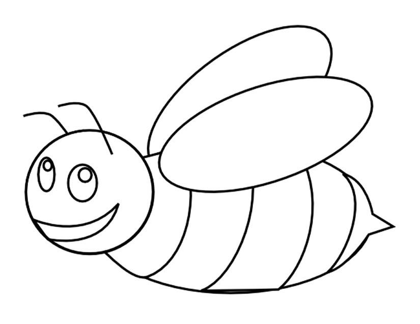 coloriage abeille maternelle car images