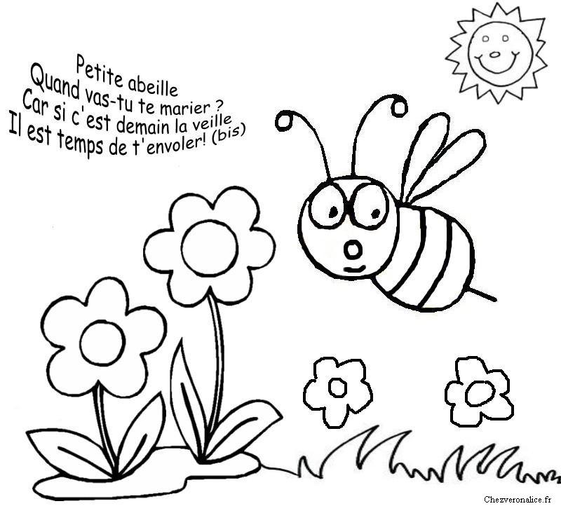 Super 115 dessins de coloriage abeille à imprimer sur LaGuerche.com - Page 4 VS71