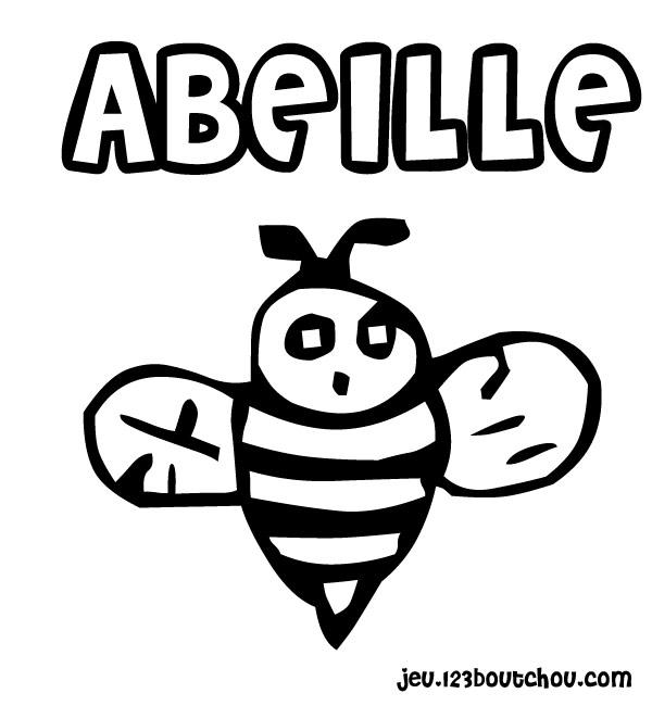 coloriage enfant coloriages animaux abeille coloriage abeille