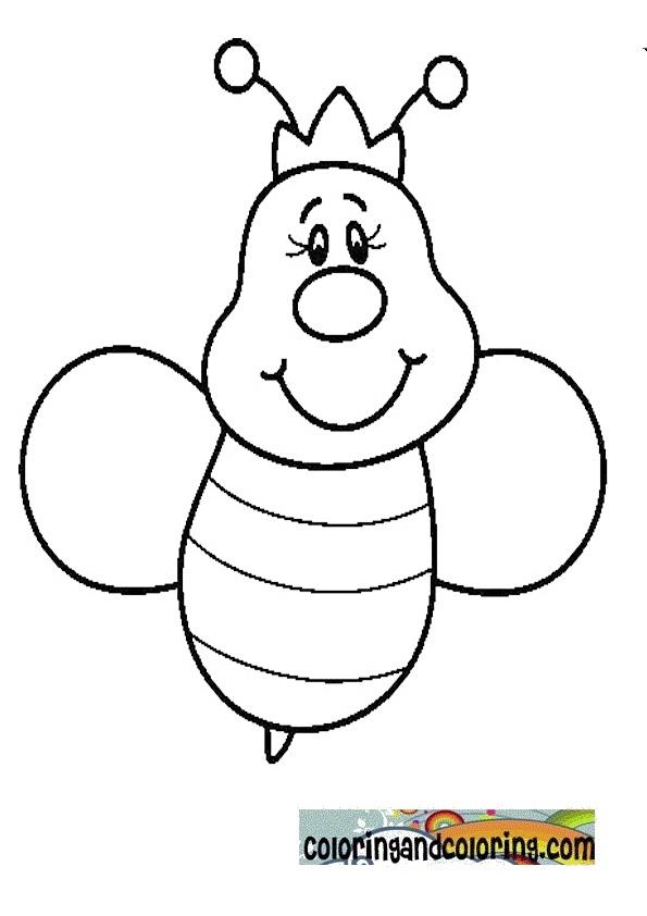 queen abeille coloriage coloriage et dessins à colorier
