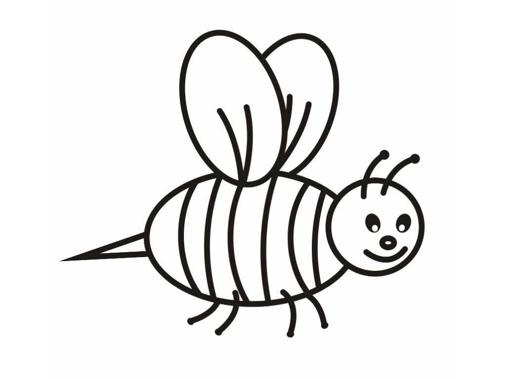 Dessin d 39 abeille 72 cliquez pour imprimer - Abeille coloriage ...