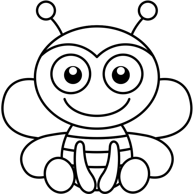 115 dessins de coloriage abeille imprimer sur page 11. Black Bedroom Furniture Sets. Home Design Ideas