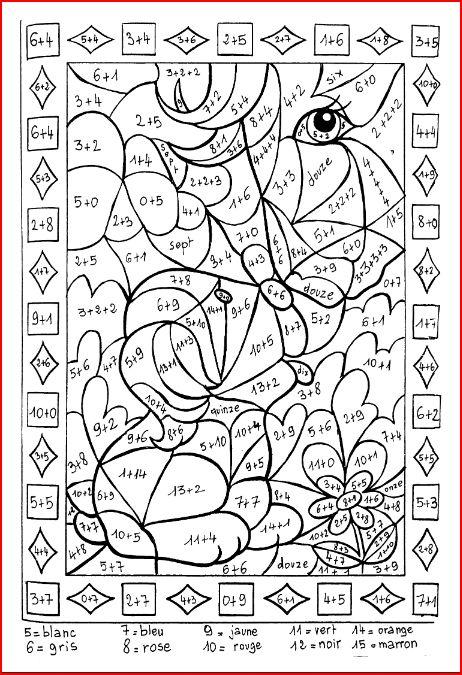 53 dessins de coloriage addition 224 imprimer sur for Table multiplication ludique