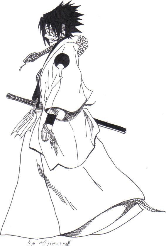 114 dessins de coloriage adulte imprimer sur laguerche - Dessin naruto en couleur ...