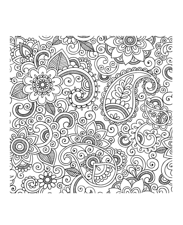 114 dessins de coloriage adulte imprimer sur page 12. Black Bedroom Furniture Sets. Home Design Ideas
