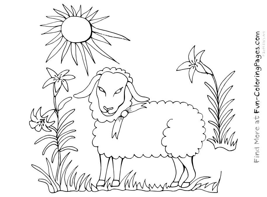 S lection de coloriage agneau imprimer sur page 2 - Dessin agneau ...