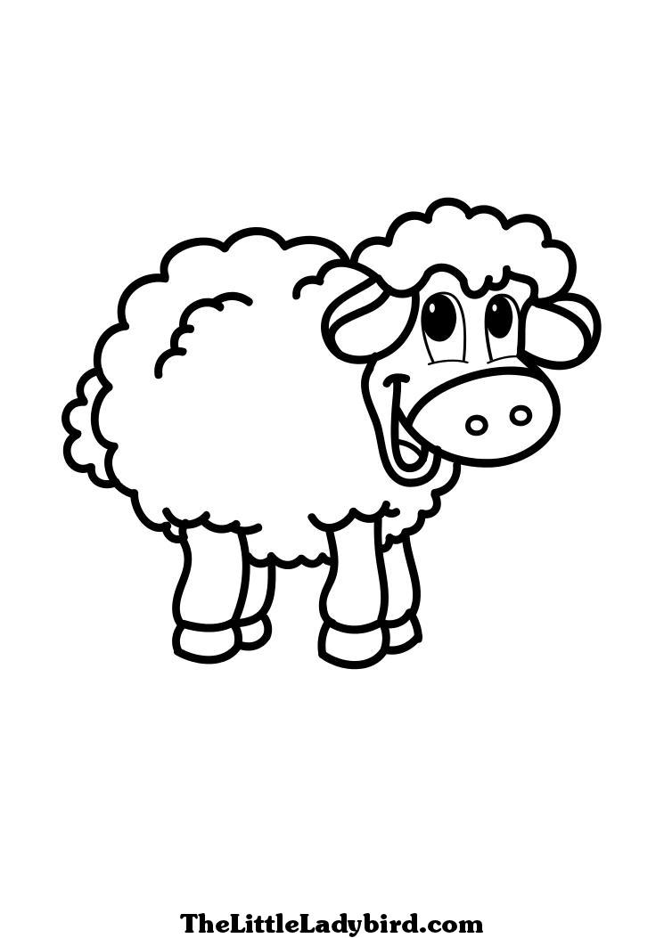 S lection de coloriage agneau imprimer sur page 5 - Dessin agneau ...
