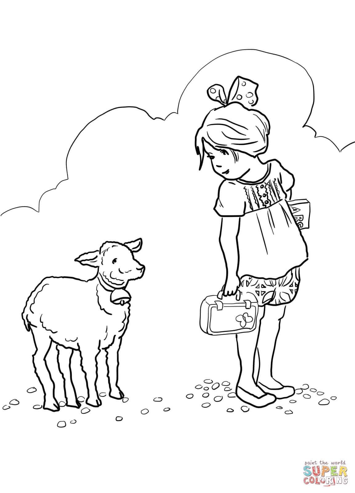 S lection de coloriage agneau imprimer sur page 6 - Dessin agneau ...