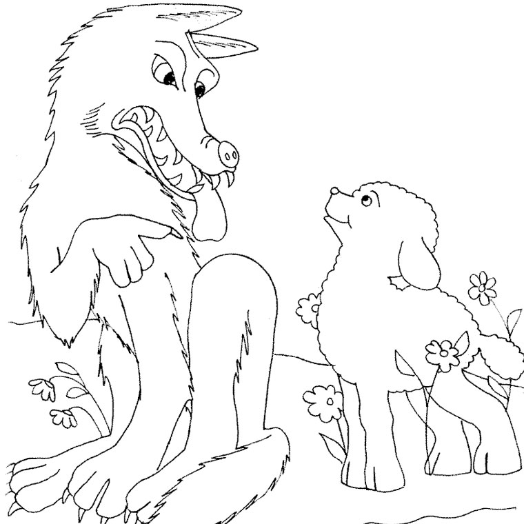 S lection de coloriage agneau imprimer sur page 7 - Dessin agneau ...