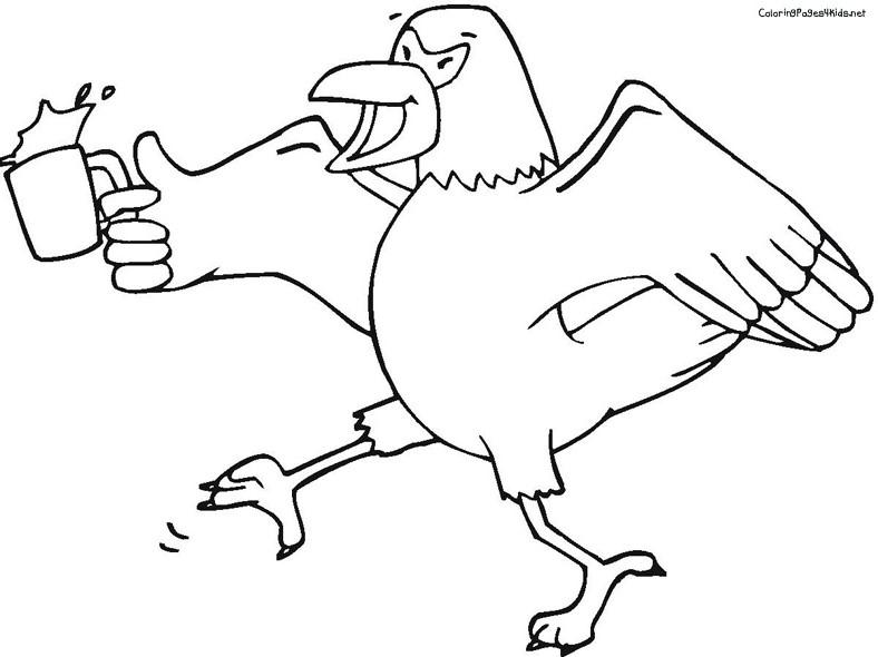 aigle dessins à colorier dessins à colorier pour enfants