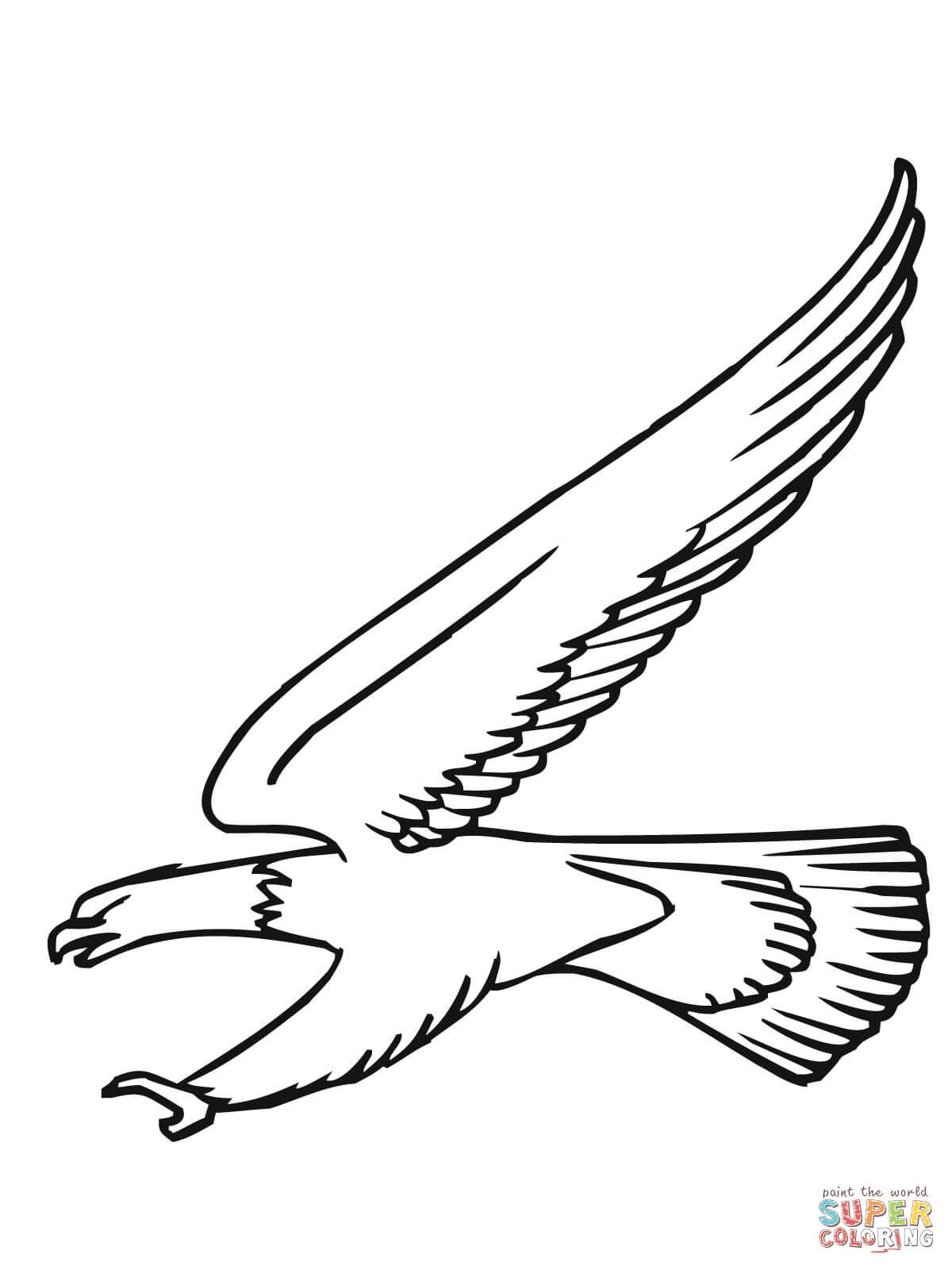 bald aigle attack coloriage en ligne super coloriage
