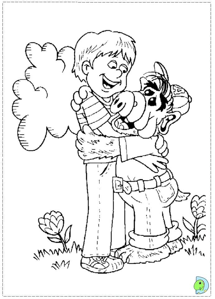 21 dessins de coloriage alf à imprimer sur LaGuerche.com ...
