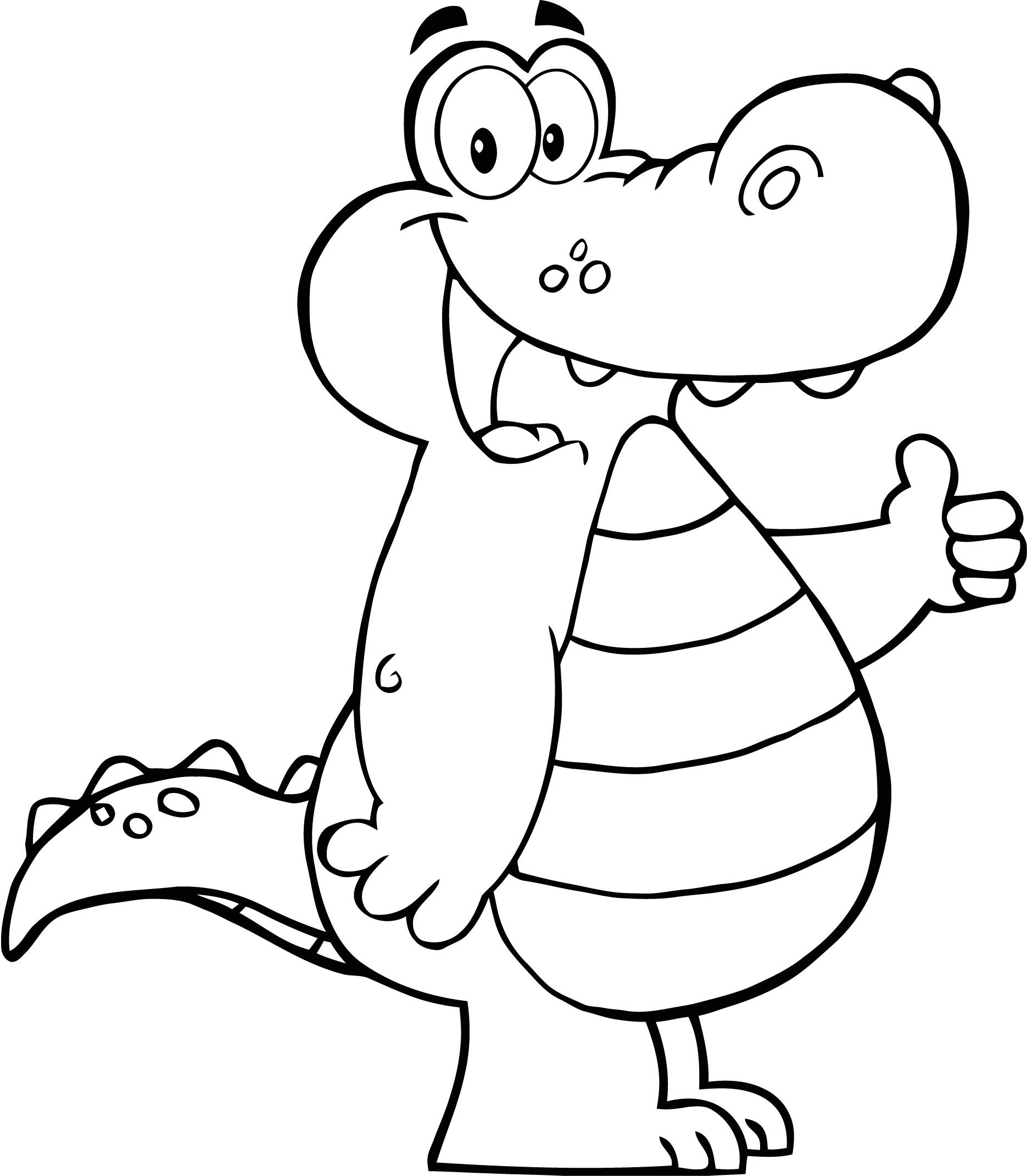 Sélection de coloriage alligator à imprimer sur LaGuerche ...