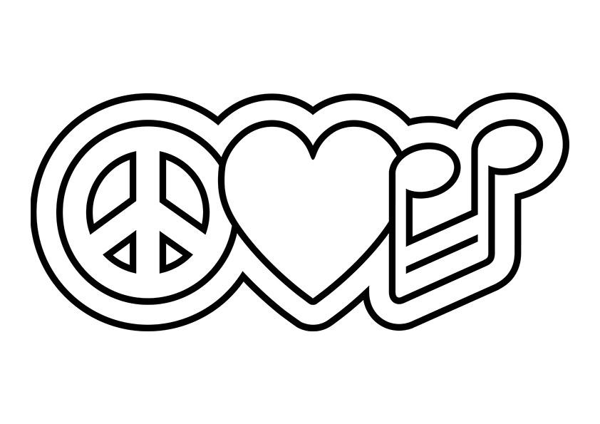 Line Art Joy : Dessins de coloriage amour à imprimer sur laguerche