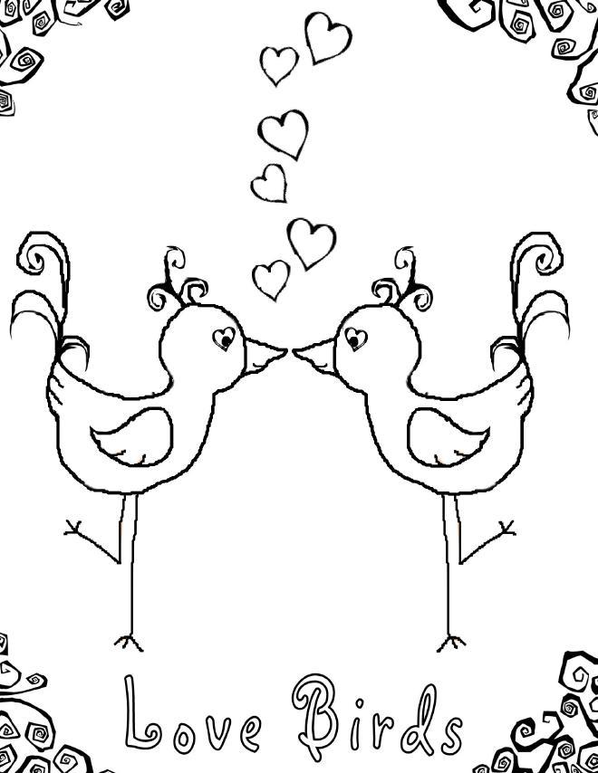 98 dessins de coloriage amour imprimer sur page 4 - Image dessin amour ...
