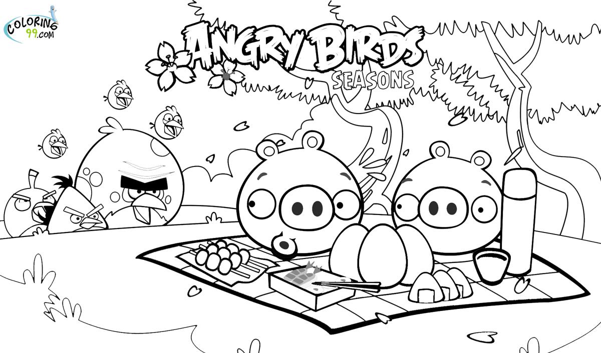 126 dessins de coloriage angry birds à imprimer sur ...