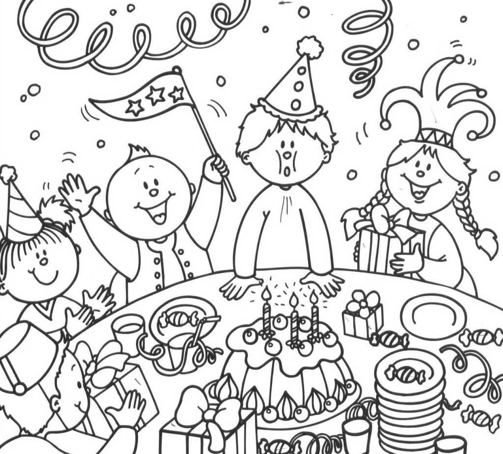 S lection de dessins de coloriage anniversaire imprimer - Dessin a imprimer anniversaire ...