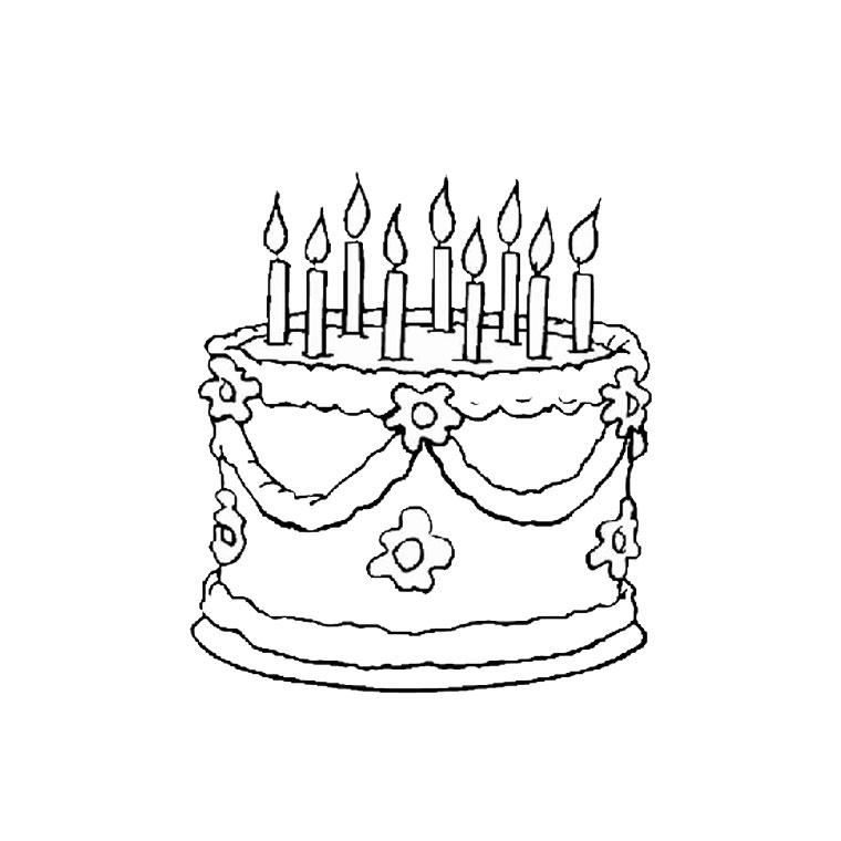 dessin 10125 coloriage de anniversaire gratuit a imprimer et colorier