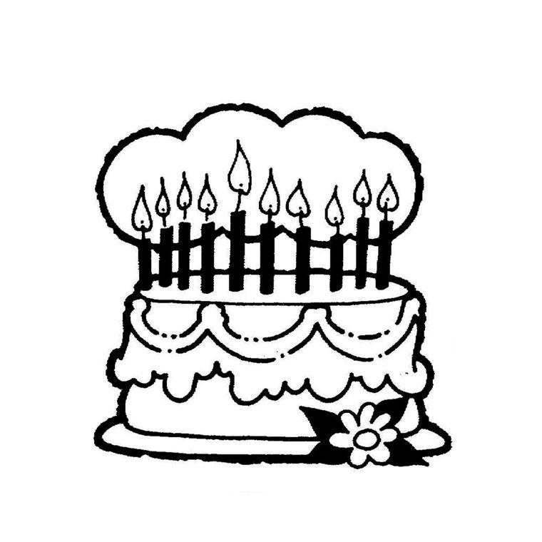 sélection de dessins de coloriage anniversaire à imprimer sur
