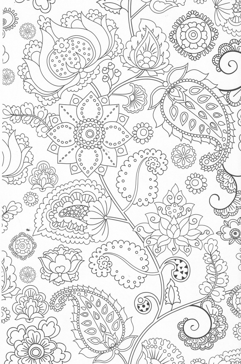 coloriage anti stress nature à imprimer