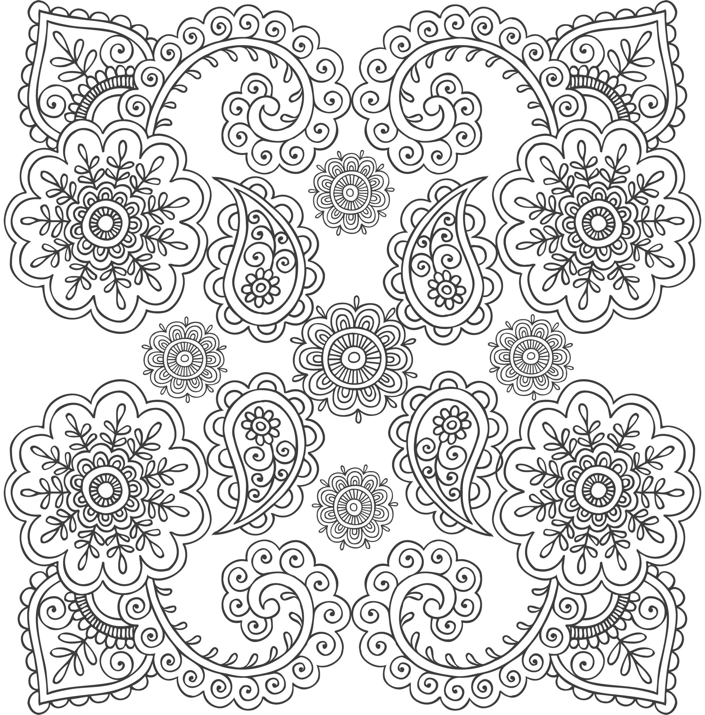 71 dessins de coloriage anti stress imprimer sur page 4. Black Bedroom Furniture Sets. Home Design Ideas