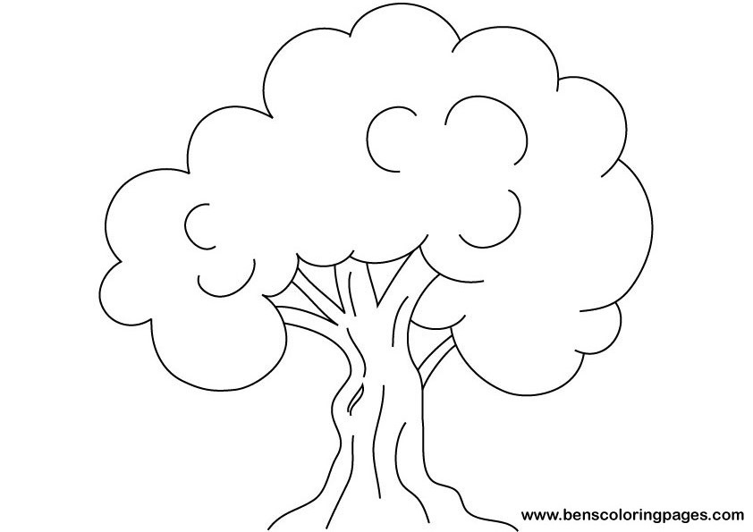 66 dessins de coloriage arbre imprimer sur page 7. Black Bedroom Furniture Sets. Home Design Ideas