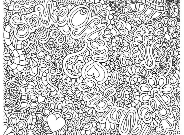 43 dessins de coloriage art th rapie imprimer sur page 1 - Coloriage therapie ...