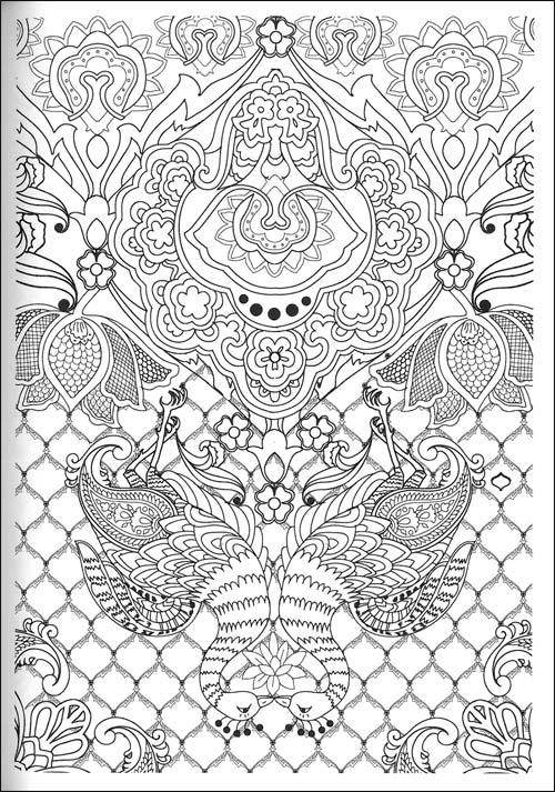 43 dessins de coloriage art th rapie imprimer sur page 3 - Coloriage art therapie ...
