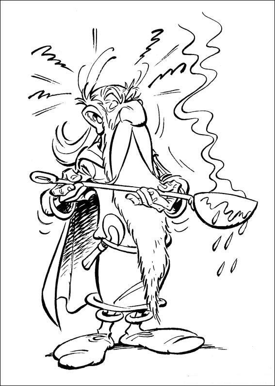 Modeller av Obelix og Asterix som kan fargelegges Tegninger gratuit