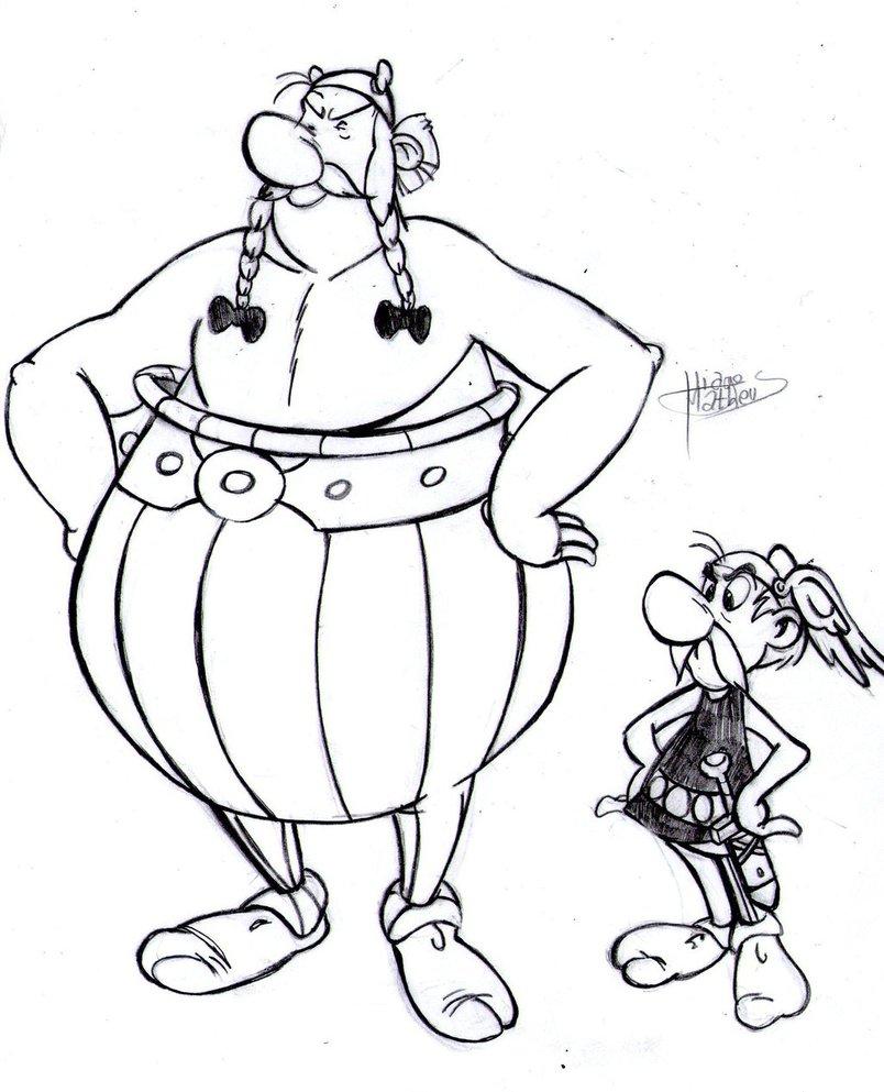 Coloriage Asterix Gratuit.190 Dessins De Coloriage Asterix A Imprimer Sur Laguerche Com Page 7