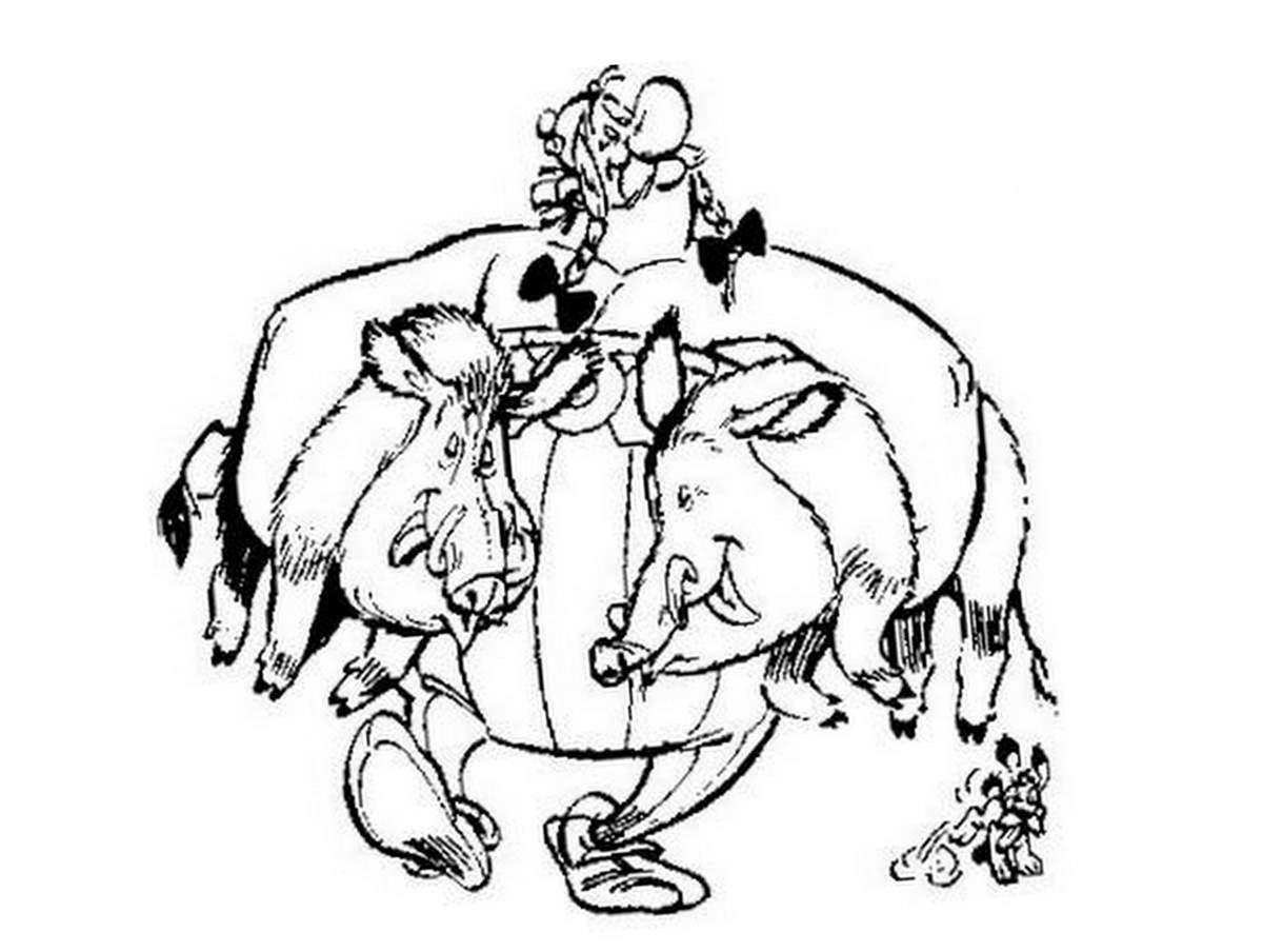 Pin Wallmanga Coloriage Asterix Et Obelix 0 Bandes on Pinterest