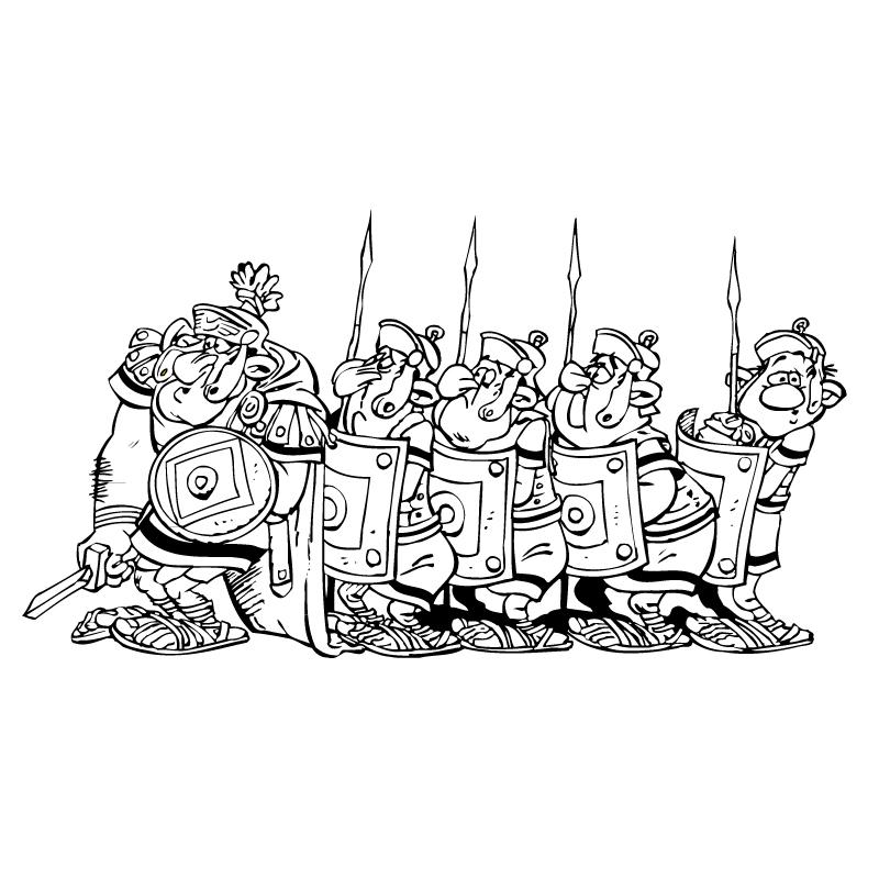 Asterix e Obelix à colorierLa Scuola di Rosa La Scuola di Rosa