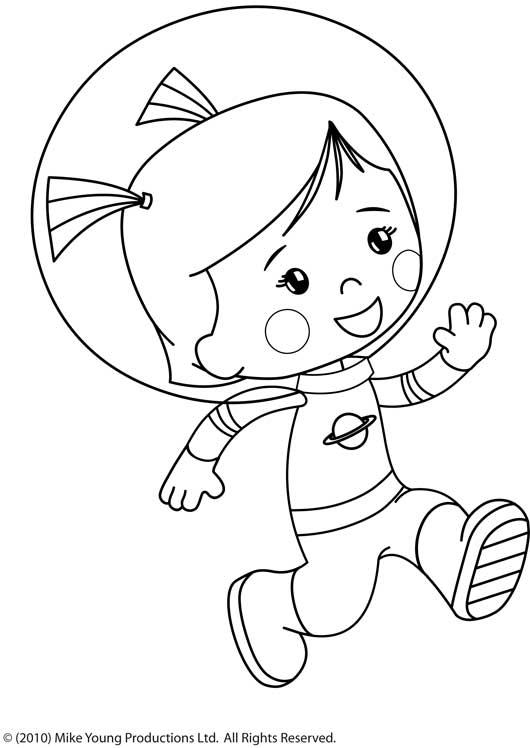 S lection de dessins de coloriage astronaute imprimer sur page 1 - Dessin d astronaute ...