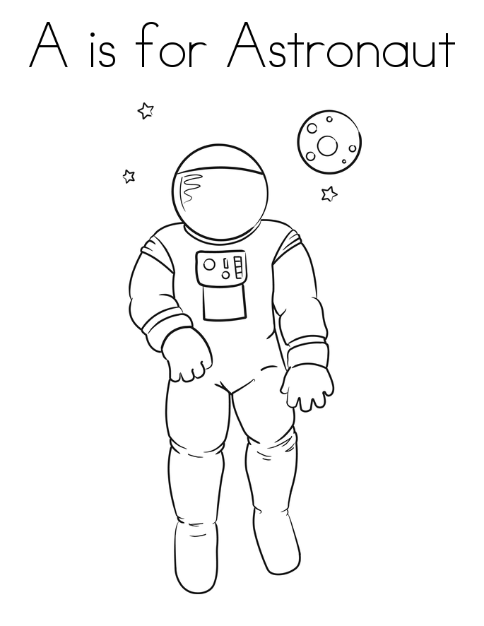 S lection de dessins de coloriage astronaute imprimer sur page 2 - Dessin d astronaute ...