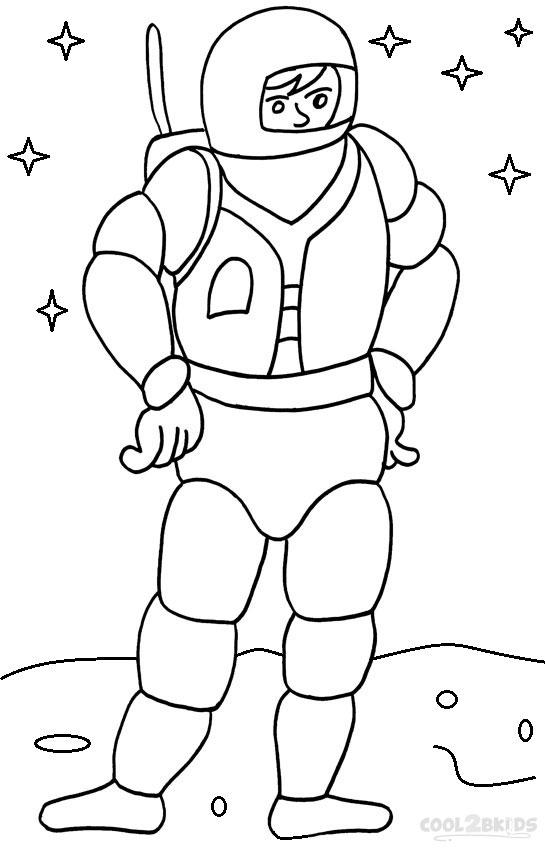 S lection de dessins de coloriage astronaute imprimer sur page 6 - Dessin d astronaute ...