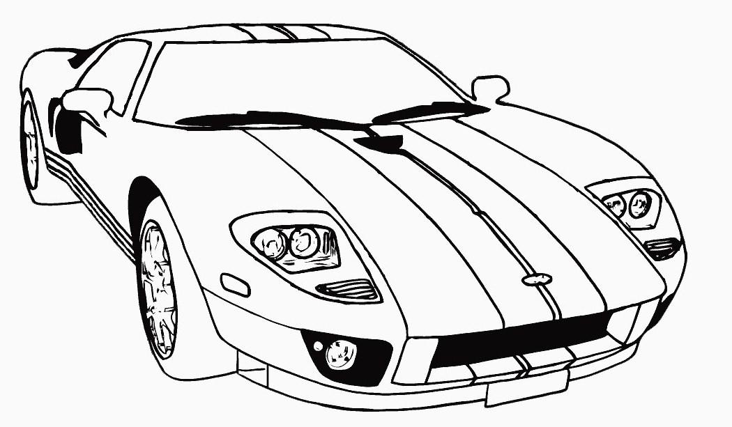S lection de dessins de coloriage auto de course imprimer sur page 1 - Dessin de car ...