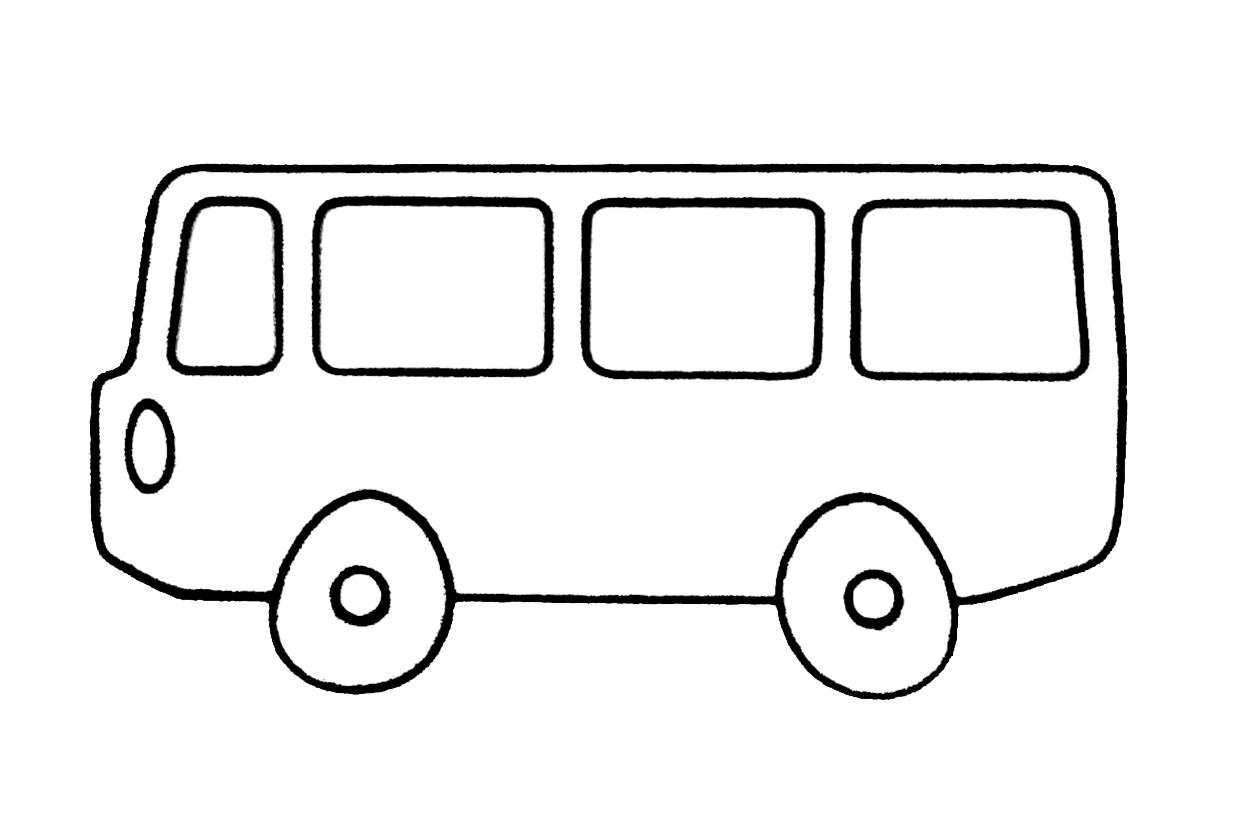 S lection de dessins de coloriage autobus imprimer sur page 1 - Dessin de transport ...