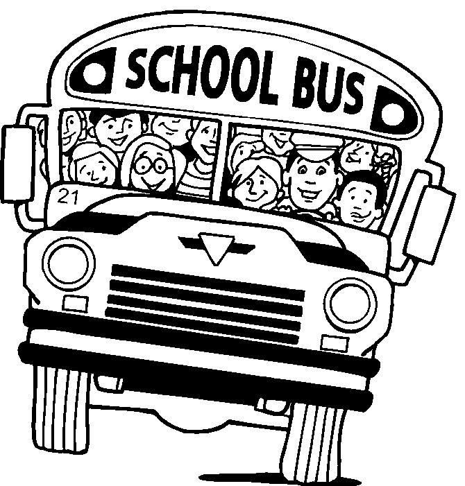 coloriage bus scolaire gratuit à imprimer
