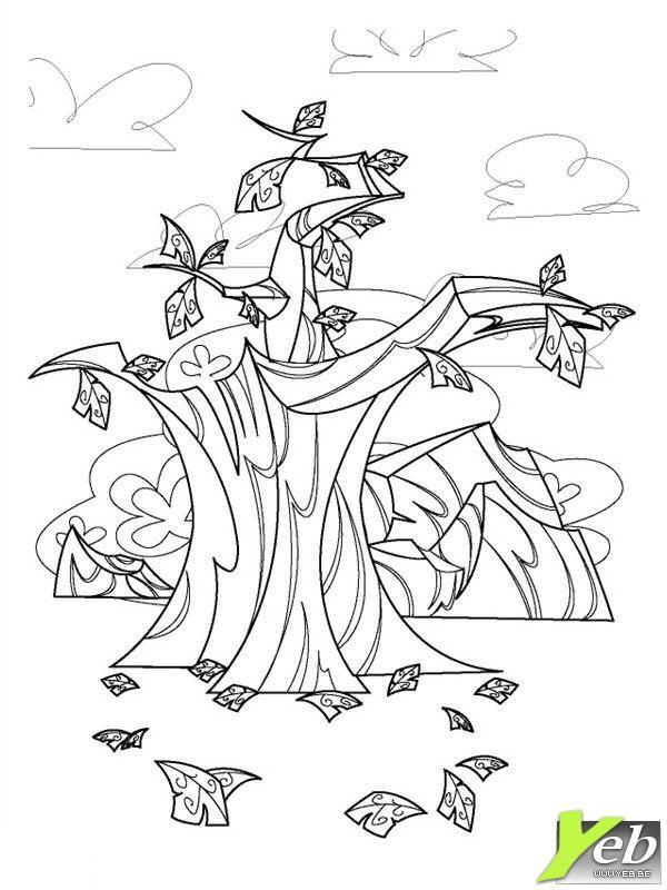 59 dessins de coloriage automne imprimer sur page 1 - Arbre d automne dessin ...