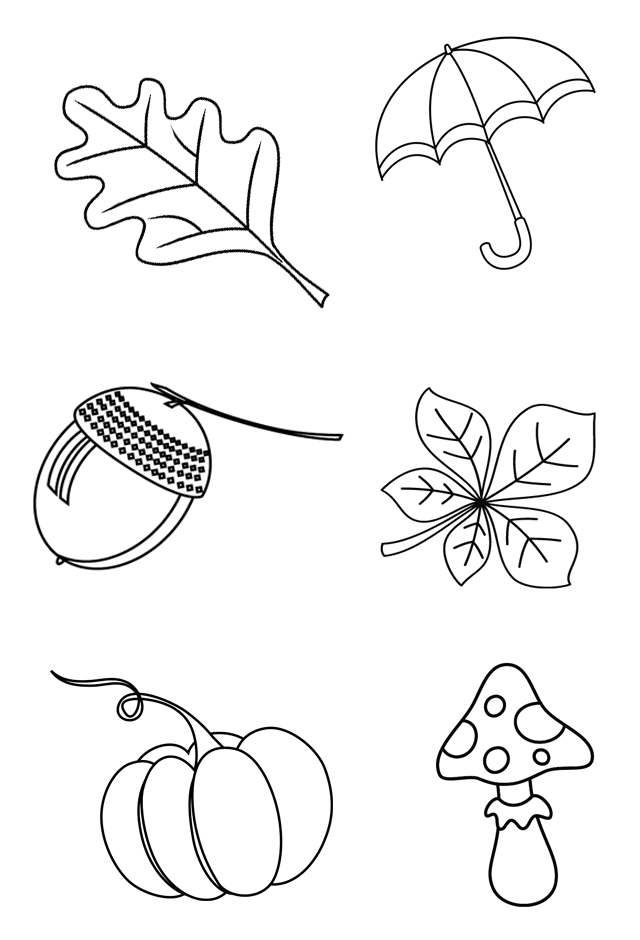 59 dessins de coloriage automne imprimer sur page 2 - Dessin d automne facile ...