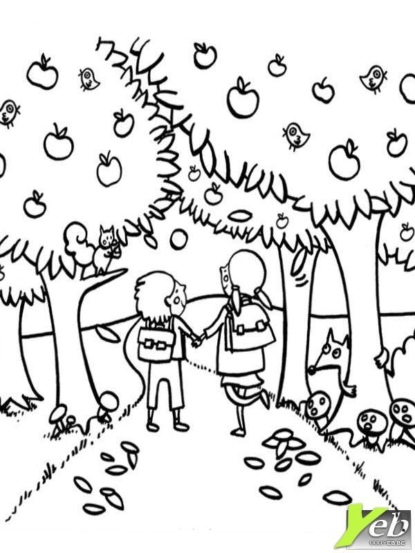 59 dessins de coloriage automne imprimer sur page 3 - Dessin d automne facile ...