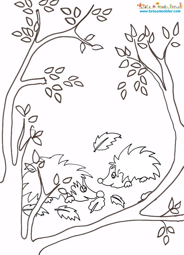 59 dessins de coloriage automne imprimer sur laguerche - Dessiner des feuilles d automne ...
