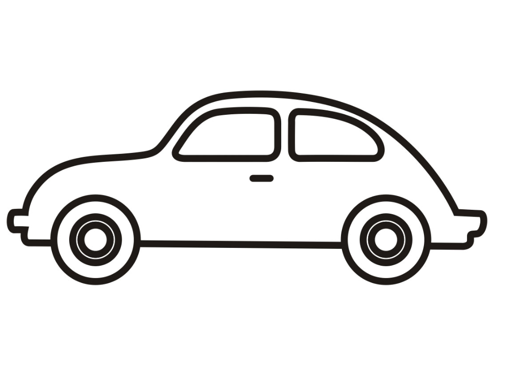 simple vehicle coloring pages - photo#19