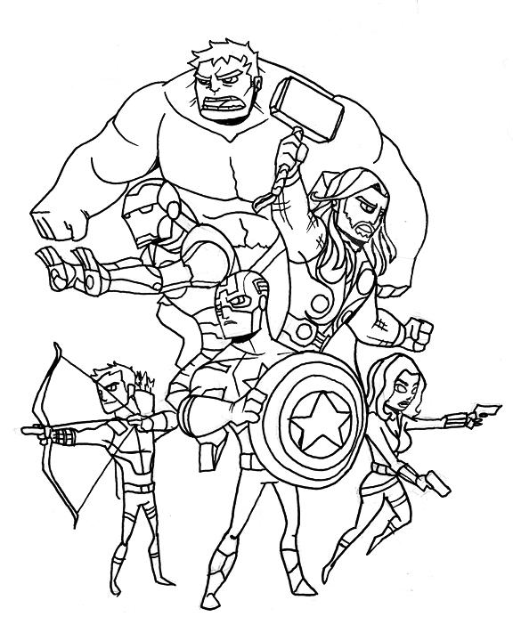 nate xopher: movie dessin avengers