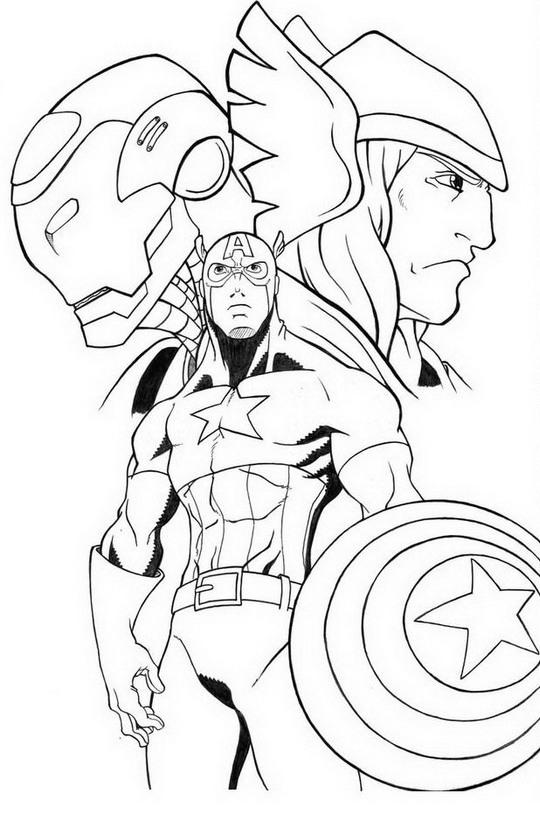 160 Dessins De Coloriage Avengers A Imprimer Sur LaGuerche
