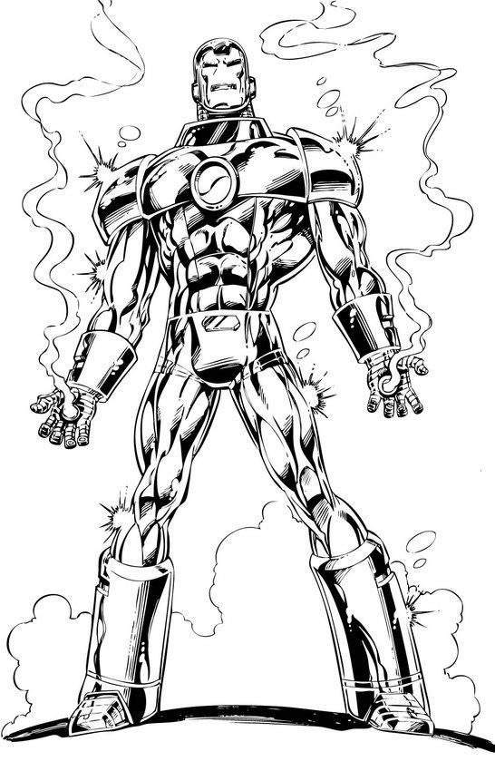 iron man comic book was created par writer-editor stan lee, developed