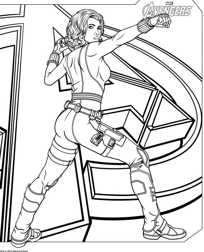 160 dessins de coloriage avengers imprimer sur page 9 - Dessin avengers ...