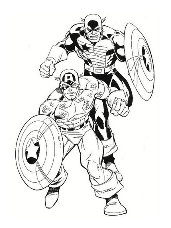 coloriages avengers