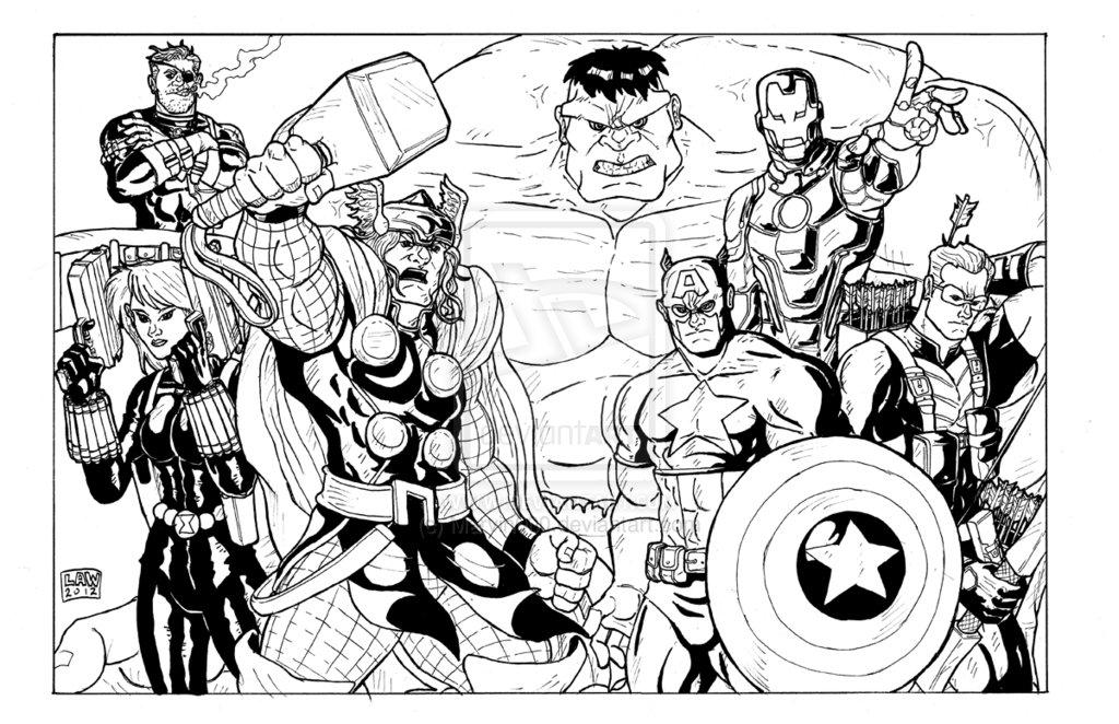 avengers assemble par marvin000