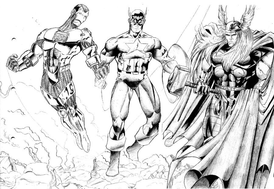 avengers assemble par alxelder